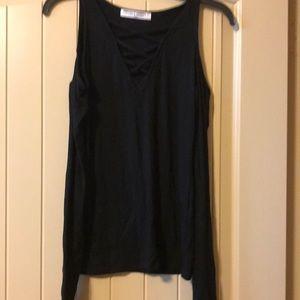 Project Social T black long sleeve shirt size xs